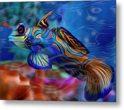 Colors Below 2 Metal Print by Jack Zulli