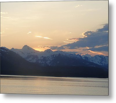 Colors Beyond The Sunset Metal Print by Cindy Croal