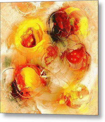 Colors Of Fall Metal Print by Anastasiya Malakhova
