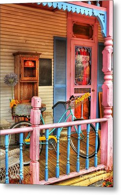 Colors Of Metamora 1 Metal Print by Mel Steinhauer