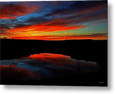 Colors Of Nature- Sunrise 002 Metal Print