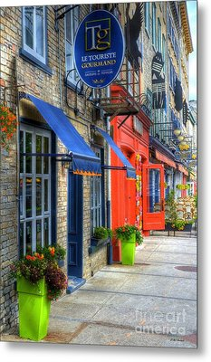 Colors Of Quebec Metal Print by Mel Steinhauer