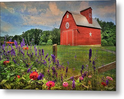 Colors Of Summer Metal Print by Lori Deiter