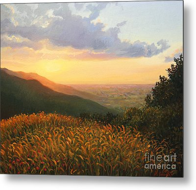 Colors Of The Light Metal Print by Kiril Stanchev