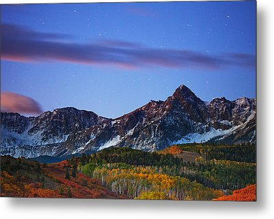 Colors Of The Night Metal Print by Darren  White