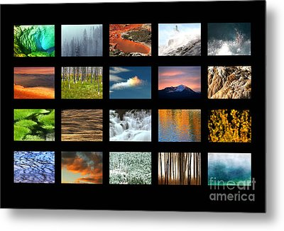 Colors Of Yellowstone Metal Print by Clare VanderVeen