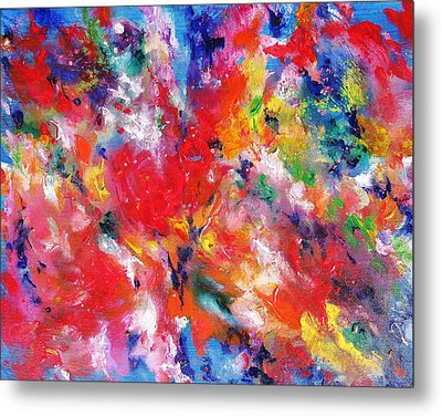 Colorscape 17. Spring Metal Print by Helen Kagan