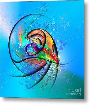 Colorwave Metal Print by Franziskus Pfleghart