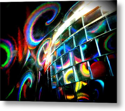 Colourful Reflections Metal Print