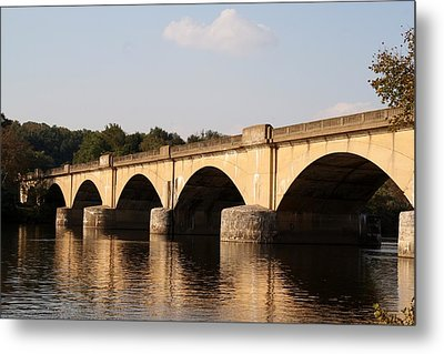 Columbia Bridge Metal Print by Christopher Woods