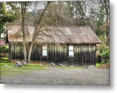 Columbia Cottage Metal Print