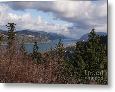 Metal Print featuring the photograph Columbia Gorge by Belinda Greb