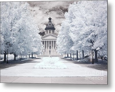 Columbia South Carolina Infrared Landscape  Metal Print