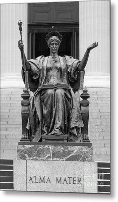 Columbia University Alma Mater Metal Print