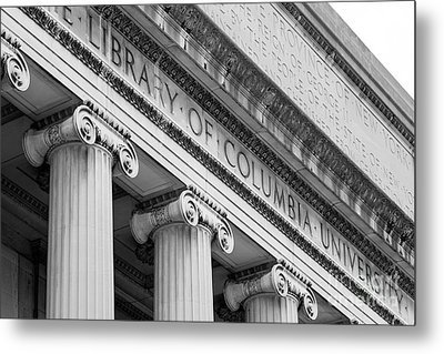 Columbia University Low Memorial Library Metal Print by University Icons
