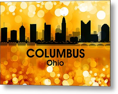 Columbus Oh 3 Metal Print by Angelina Vick