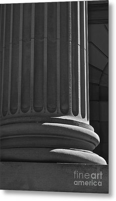 Metal Print featuring the photograph Column 2 by Linda Bianic