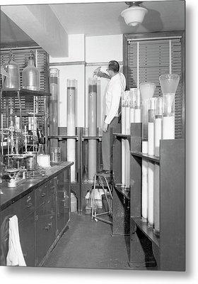 Column Chromatography Metal Print