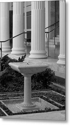 Column Entrance Metal Print by Ivete Basso Photography