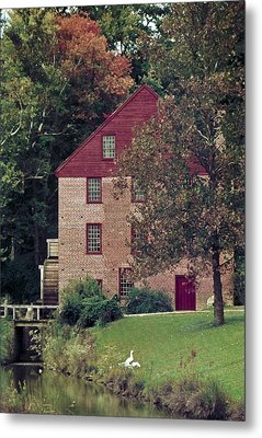 Colvin Run Mill Metal Print