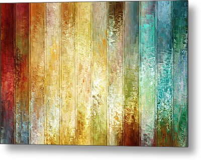 Come A Little Closer - Abstract Art Metal Print by Jaison Cianelli