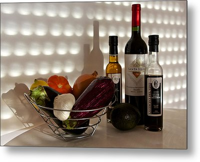 Come Dine With Me I Am Cooking Italian Tonight Metal Print by Venetia Featherstone-Witty
