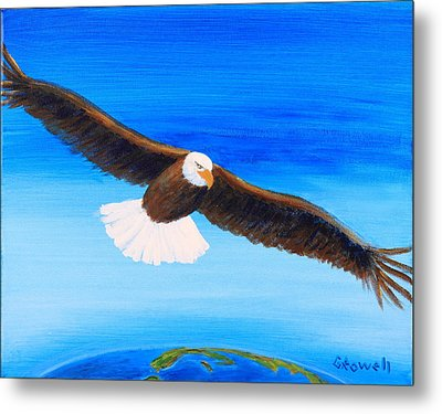 Come Fly With Me Metal Print by Gary Rowell