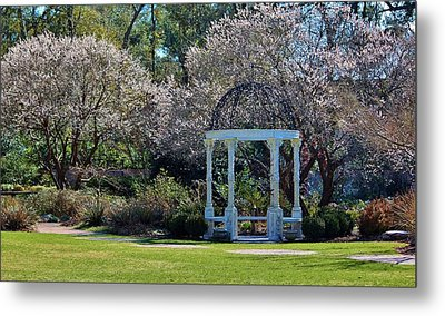 Come Into The Garden Metal Print