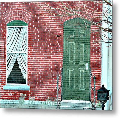 Come On In Metal Print by Linda Cox