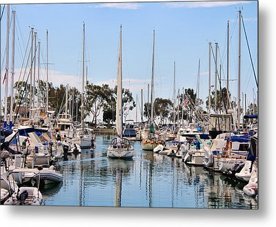Come Sail Away Metal Print by Tammy Espino
