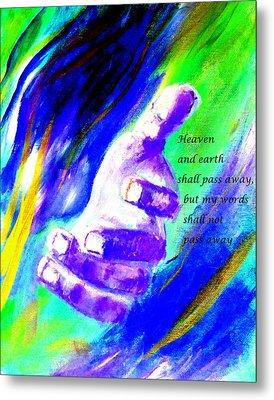 Come Take My Hand Metal Print by Amanda Dinan