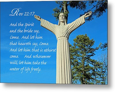 Come To Jesus Metal Print