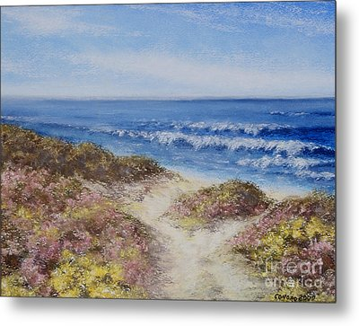 Come With Me Metal Print by Stanza Widen