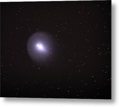 Metal Print featuring the photograph Comet 17p - Holmes by Chuck Caramella