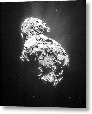 Comet 67pchuryumov-gerasimenko Metal Print