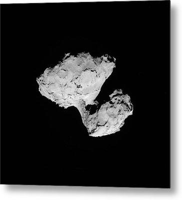 Comet Churyumov-gerasimenko Metal Print