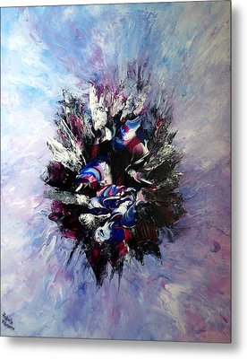 Coming From The Other Side Of Life Metal Print by Isabelle Vobmann
