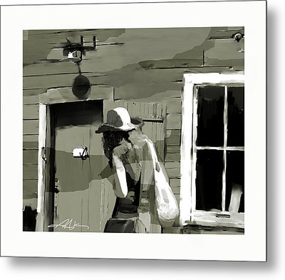 Metal Print featuring the painting Coming Home by Bob Salo
