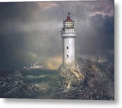 Metal Print featuring the photograph Coming Home by Brian Tarr