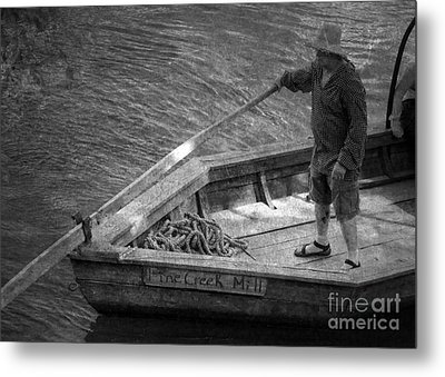 Metal Print featuring the photograph Coming Into Port by Pete Hellmann