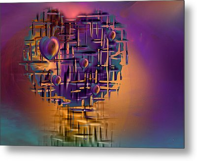 Command Central Metal Print by Phil Sadler