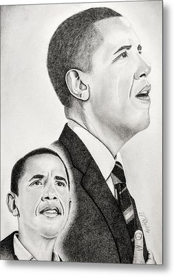 Commander In Chief Metal Print by Timothy Gaddy