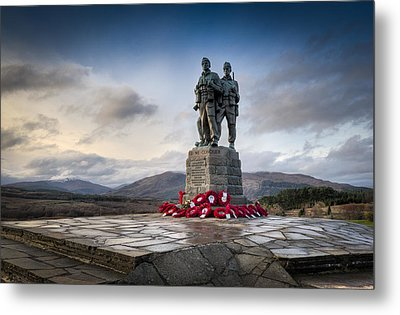 Commando Memorial At Spean Bridge Metal Print