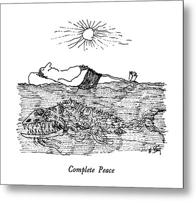 Complete Peace Metal Print by William Steig