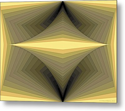 Composition 147 Metal Print