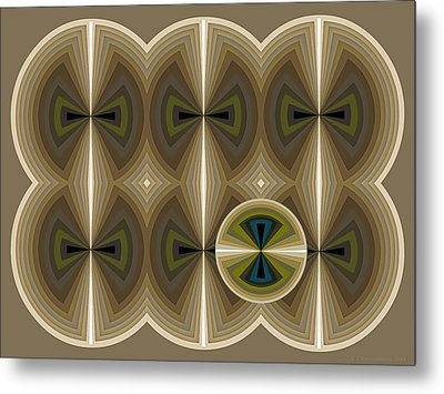 Composition 181 Metal Print by Terry Reynoldson