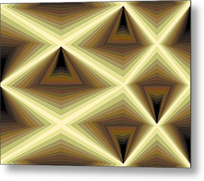 Composition 232 Metal Print by Terry Reynoldson