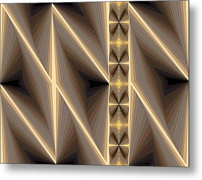 Composition 236 Metal Print by Terry Reynoldson
