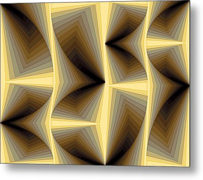 Composition 252 Metal Print