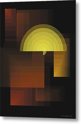 Composition 27 Metal Print